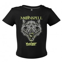 Young Wolf (Black, Baby Tshirt)